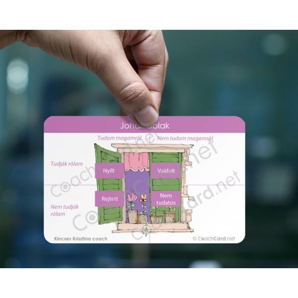 Johari ablak coach kártya (8 darab)