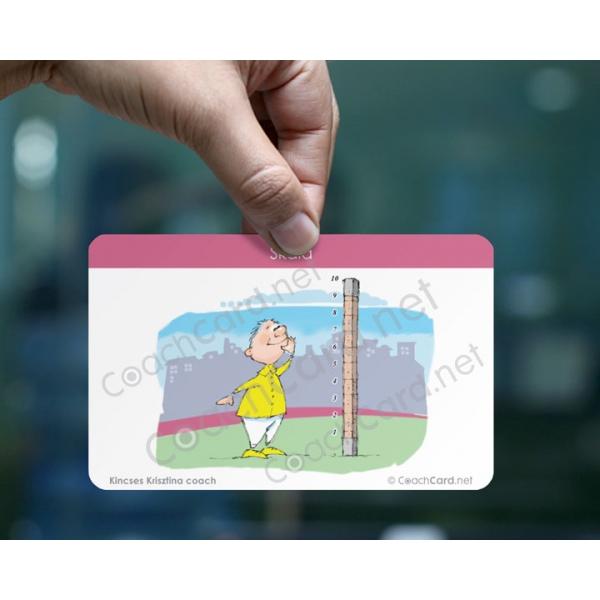 Skála coach kártya (8 darab)