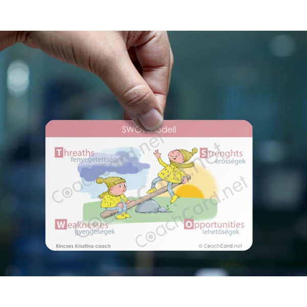 SWOT coach kártya (8 darab)