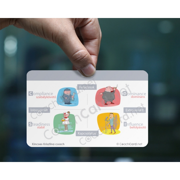 DISC coach kártya (8 darab)